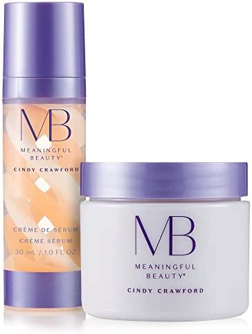 Meaningful Beauty – Rejuvenating Night System – for Smoothing and Hydration – 2 Piece Kit – MT.2061