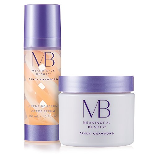 Meaningful Beauty - Rejuvenating Night System - for Smoothing and Hydration - 2 Piece Kit - MT.2061