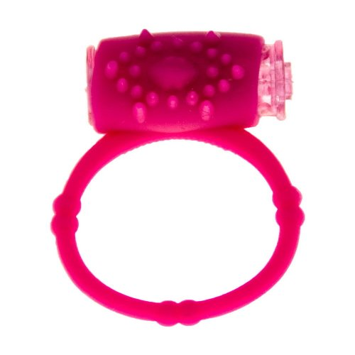 Trolax(TM) Silicone Pink vi-b-ra-t-ing Cock Ring, Delay Ring, Great s-ex Toy for Men, s-ex Toys