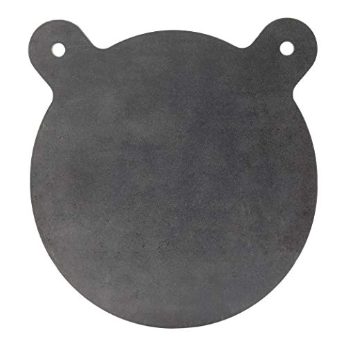 ShootingTargets7 - AR500 Steel Gong Target - 12 x 3/8 inch for Rifles to 308 - Laser Cut USA Steel