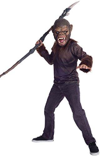 8eighteen Dawn of the Planet of the Apes Monkey Caesar Teen Costume (Caesar Costume Ape)