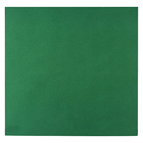 - ITOS365 Colored Napkins - Green - Decorative Cloth Like & Disposable Napkins for Wedding Airlaid Paper Dinner Napkins - Soft, Absorbent & Durable - 16