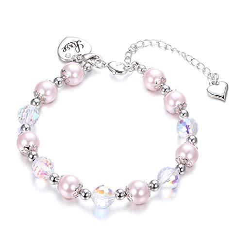 Pearl Crystal Jewelry - 7