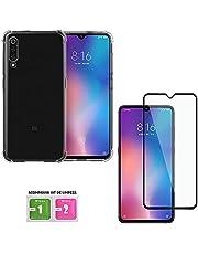 Capa Case Anti Shock Xiaomi Mi 9 + Película 5D Blindada Flexível Nano Gel Ultra Resistente - ENCAPAR