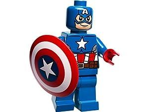 how to make a lego captain america shield