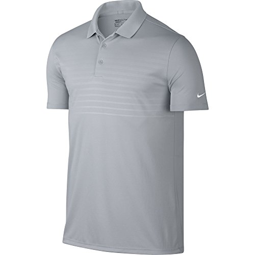 Nike Golf Victory 2.0 Emboss Polo (Wolf Grey) L