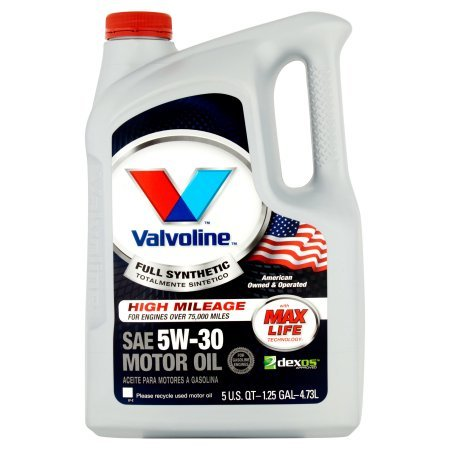 Amazon.com: Valvoline 5W-30 Full Synthetic High Mileage Motor Oil - 5qt (813531) (Pack of 3): Automotive