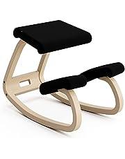 Variabel, originalknästol, design av Peter Opsvik – natur/svart
