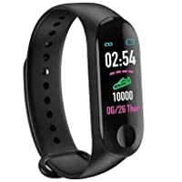 Piqancy Mi Band 3 Compatible with Android and iOS Devices