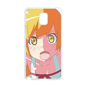 Monogatari Oshino Shinobu Chica Anime Face Nota caja del teléfono celular 102 660 4 Samsung Galaxy funda blanca del teléfono celular Funda Cubierta EEECBCAAL70130