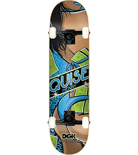 DGK Skateboard Complete HENRY AFTER HOURS 8.0