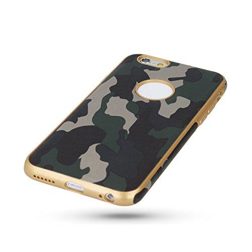 "Moro Camouflage grün / green Für Apple iPhone 6 4,7"" Apple iPhone 6S Apple iPhone 6 Schutzhülle Armee Militär / Army Case Etui Cover Hülle Flip"