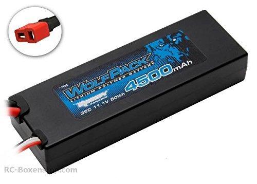 ASSOCIATED 755 WolfPack LiPo 3S 11.1V 4500mAh 35C by Associated