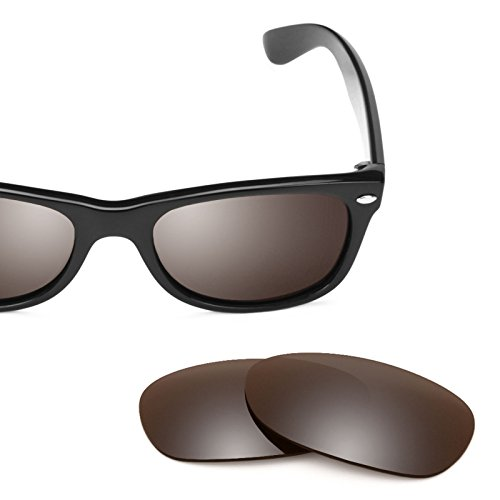 Mirrorshield 52mm Lentes — Wayfarer New múltiples Bronce Flash para repuesto Elite Ray Opciones de RB2132 Ban Polarizados wqx0RfqAa