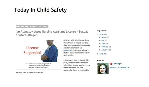 Amazon com: Today In Child Safety: Lisa Barger: Kindle Store