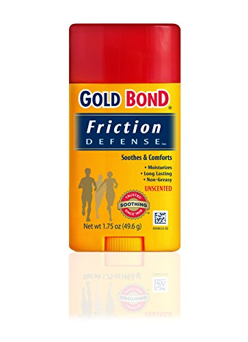 Gold Bond Friction Defense Stick Unscented 1.75 oz (Best Way To Stop Chafing Between Thighs)