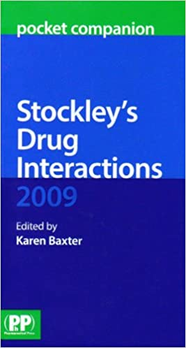 Stockley's Drug Interactions 2009 Pocket Companion