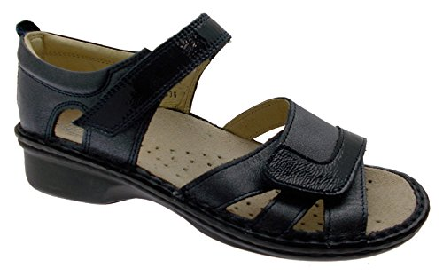 Bleu Orthopédique M2524 Sandale 40 Chaussure M2524 Large Extra Loren Large Loren 40 Sandale Orthopédique Loren Extra Bleu Chaussure 0wZaqX1xRA