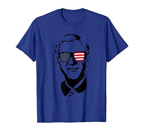 George W. Bush T-Shirt USA 4th of July Dubya President (George W Bush First Held Political Office As)