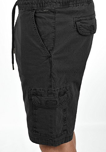 Pantaloni Bermuda Pantaloncini Indicode Elasticizzato 999 Fit Uomo Frances Corti Cargo Da Shorts Regular Black CqUtTtwX