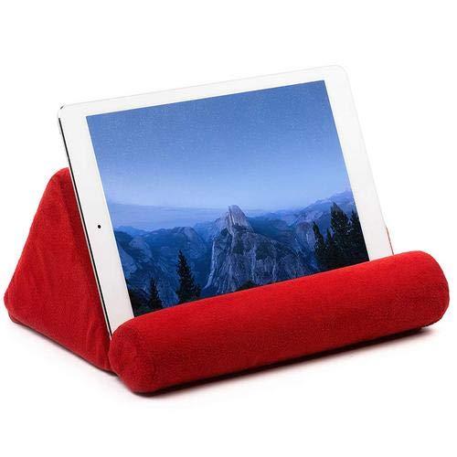 Brownrolly Almohada Universal Soporte para Almohada Tableta Almohada Cojín de Lectura Multi-ángulo Suave para iPad Tablet Teléfono