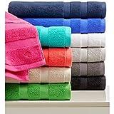 10 toallas de baño de lujo, 40x60 cm, de 600 A 850 gr/