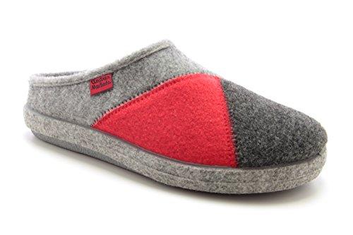 Andres Machado. ESAM001. Zapatillas Alpinas en diferentes colores. Unisex. Todas las tallas de la 26 a la 50. MutiRojo