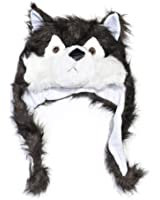 Plush Animal Winter Hat