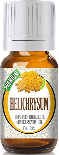 Helichrysum - 100% Pure, Best Therapeutic Grade Essential Oil - 10ml (Best Essential Oil For Wounds)