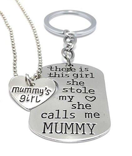 2 parte Mummy & niña de la momia robó mi corazón – Llavero ...