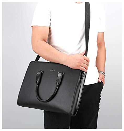 Sacoche Affaire À Cuir En Hommes Document Noir Bandoulière Simple Bags Grand Sac Porte Ensemble Shoulder Skitor Tablette Vintage Mature x6qFCSWwa