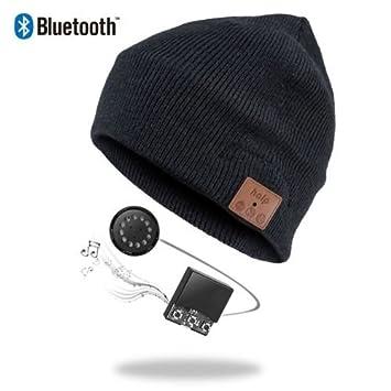 Bluetooth Beanie Mütze schwarz Headset Bluetooth Mütze  Amazon.de ... f55ca45719
