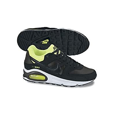 new product 90871 62c45 nike air max command (GS) youth trainers 407759 034 sneakers shoes black  anthracite volt white (uk 5 us 5.5Y eu 38)  Amazon.co.uk  Shoes   Bags