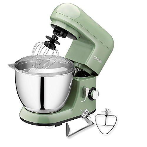 Best Prices! CHEFTRONIC Stand Mixer SM-985, 350W 6 Speeds Tilt-head Compact Kitchen Electric Mixer 4...