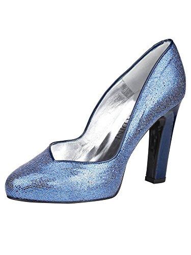 Tacón Zapatos Azul Sintético Patrizia Iin De Dini FwYqg5Yrx
