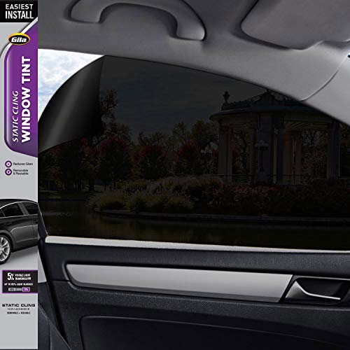 (Gila Static Cling 5% VLT Automotive Window Tint DIY Easy Install Glare Control Privacy 2ft x 6.5ft (24in x 78in))