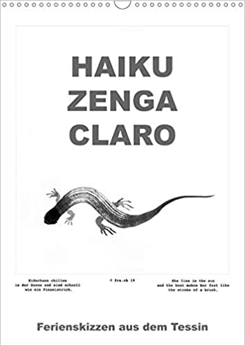 Haiku Zenga Claro Wandkalender 2020 Din A3 Hoch