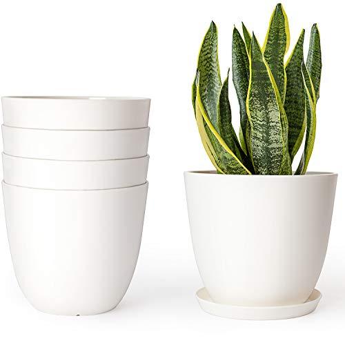 Mkono Plastic Planters Indoor
