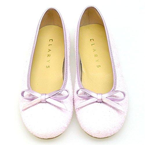 CLARYS Bailarinas Comunión con Glitter 4609 Rosa