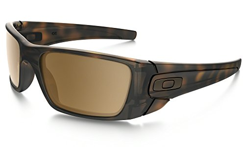 Oakley Fuel Cell Sunglasses Matte Tortoise with Tungsten Iridium Lens + - Oakley Black Tortoise