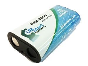 Kodak Z712 IS Battery - Replacement for Kodak KLIC-8000 Digital Camera Battery (2000mAh, 3.7V, Lithium-Ion)
