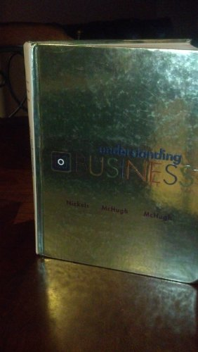 Understanding Business (text only)9th (Ninth) edition by W.Nickels by J.McHugh by S. McHugh