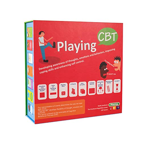 Playing CBT - Therapy Game to Develop Awareness of Thoughts, Emotions and behaviors for improving Social Skills, Coping Skills and Enhancing self Control.- New Version (Word Thief Game)