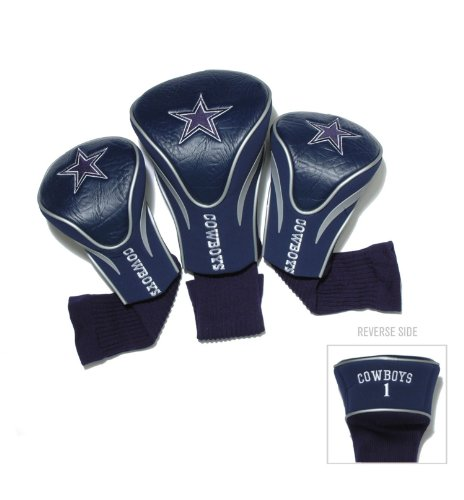 Cowboys Golf - NFL Dallas Cowboys 3 Pack Contour Head Covers