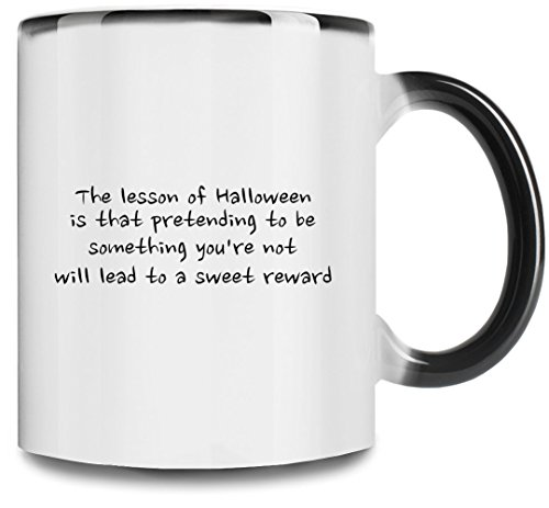 the lesson of halloween Premium Full Color Changing Mug| 11Oz|Drink W/ Style In Our Unique Color Changing Mug Ceramic W/ Glossy Finish
