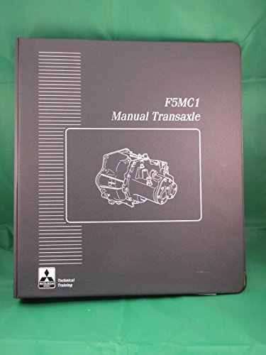 1995 Mitsubishi F5MC1 Manual Transaxle Course Guide