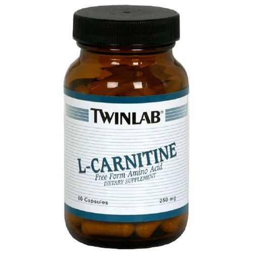 L-Carnitine 250mg 60cap by Twinlab