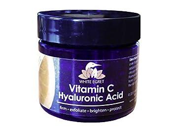 Vitamin C Hyaluronic Acid White Egret INC 2 fl oz Cream Sun Bum Sunscreen Lip Balm SPF 30 Key Lime0.15 oz.(pack of 4)