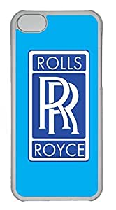 iphone 5s Case, iphone 5s Cases - Protective Scratch-Proof Clear Case for iphone 5s Roll Royce Logo Extremely Fit Hard Back Case for iphone 5s