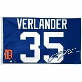 MLB Detroit Tigers Justin Verlander 3-by-5 foot Flag
